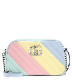 Lip Gloss Homemade, Gucci Shoulder Bag, Shoulder Strap, Gg Marmont, Mini Camera, Backpack Purse, Luxury Bags, Types Of Fashion Styles, Cute Shoes