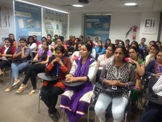 Supporting the cause of Breast Cancer Awareness - Eli India. Celebrating October as Cancer Awareness Month, a Health Talk on Breast Cancer Awareness was organized for women in Eli's Faridabad office.