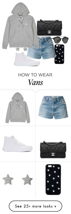 """Untitled #23281"" by florencia95 on Polyvore featuring STELLA McCARTNEY, RE/DONE, Acne Studios, Chanel, Vans, Gucci and Christian Dior"