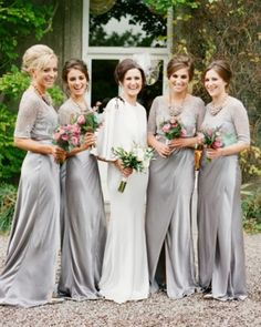 25 Ways To Keep Your Bridesmaids Warm | Weddingomania