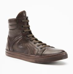 Kenneth Cole - Double Header Sneaker (Washed Brown) - $168.00