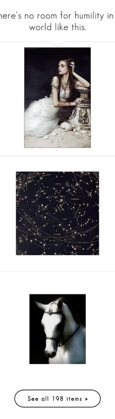 """""""There's no room for humility in a world like this."""" by athousandshadesofblue ❤ liked on Polyvore featuring PDGrp, pictures, backgrounds, art, photos, images, filler, wallpaper, animals and fairytale"""