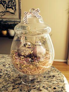 Spring Apothecary Jar