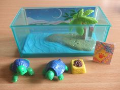 Vintage Littlest Pet Shop Turtles my best friend at the time had this and i wanted one so bad