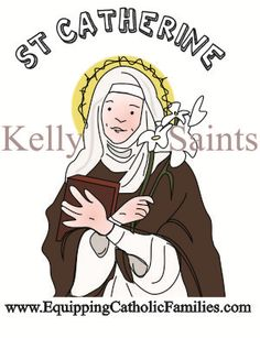 What Are Symbols For St Catherine Of Siena Catherine Of