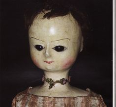 pictures of antique wood dolls in museums - Google Search