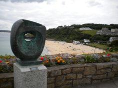 Barbara Hepworth sculpture St Ives Cornwall
