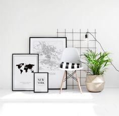 Nordic and Scandinavian decor. Posters and prints. Desenio.com