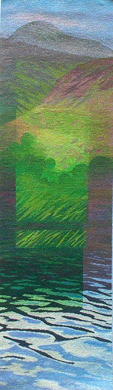 "Joan Baxter Scotland Tapestry Artist  ""Sheneval"""