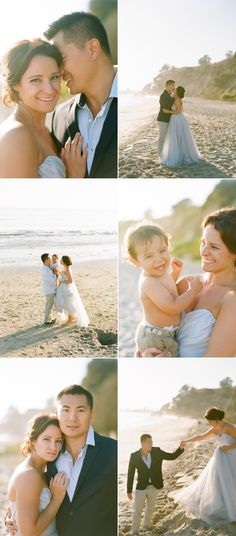 How cute is this!!! Anniversary photos back in your wedding dress and with your new little one 2 years later :-)