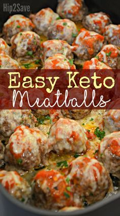 The entire family will LOVE these Keto friendly meatballs made with almond flour and Parmesan cheese!