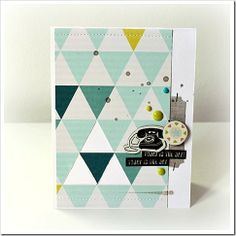 Crate Paper Hip Kit Club---love the lay-out Hip Kit Club, Scrapbooking, Crate Paper, Studio Calico, Crafty Projects, Colours, Quilts, September 2013, Fabric