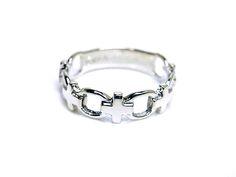 AMBRACE PT900 platinum ring cross design レディース リング 指輪 クロス デザイン ピンキーリング プラチナ