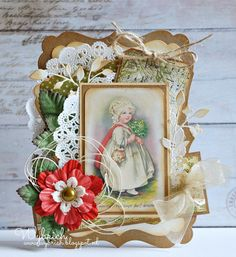 scrapcards from wybrich: vintage