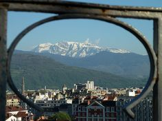 Grenoble, France - the mountains are almost on top of the city. Loved it.
