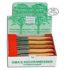 OMA S Holzgriff-Küchenmesser