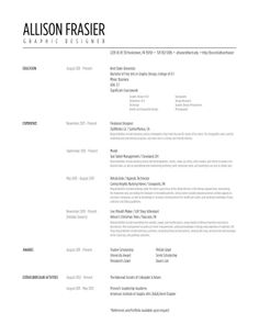 Best Graphic Design Resumes 41 Best Ms Word Classic Resume Images On Pinterest