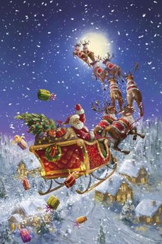Christmas is coming . the artist Marcello Corti . Christmas is coming . the artist Marcello Corti . Old Time Christmas, Merry Christmas To All, Christmas Scenes, Old Fashioned Christmas, Noel Christmas, Father Christmas, Vintage Christmas Cards, Christmas Images, Christmas Greetings