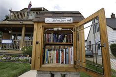 Milwaukee area residents give tips about what worked best for their Little Free Library design.