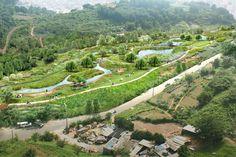 정량천 생태하천 복원사업