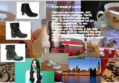 Bij deze trend, geïnspireerd op the streets of London, draag je korte laarsjes of pumps op een hak. Maar ook platte boots passen bij deze stijl. Leef je uit!