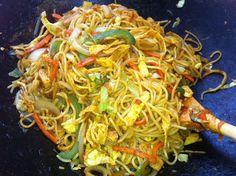 Indian Chinese Noodles - Mayabugs's Yummy Recipes