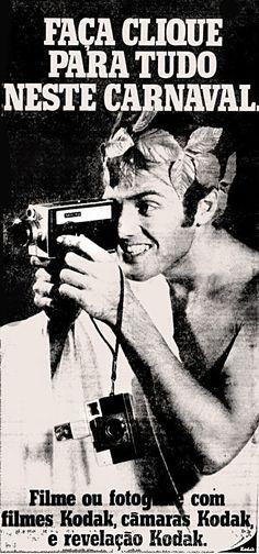 Anúncio Kodak - 1970