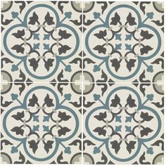 St Etienne - Toulouse - Wall & Floor Tiles | Fired EarthSomething like this, but perhaps with sage, grey, duck-egg and heather colours?
