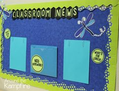 Classroom News by Linda from Around the Kampfire