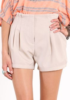 Affordable Nude shorts. Summer staples