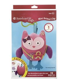 Look at this Owl Mini Animal Clip on #zulily today!