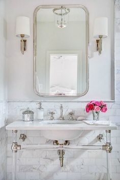 Bathroom inspiration tips. Any house look wonderful after a little fresh designing and decorating. Anyone can express their inner artist with home design. It's hoped this article gave a new perspective on utilizing interior design in your life. Bad Inspiration, Bathroom Inspiration, Lucite Furniture, Furniture Ideas, Furniture Buyers, Bathroom Furniture, Bathroom Interior, Home Luxury, Classic Baths