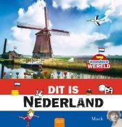 Dit is Nederland - Mack - Een informatief boek boordevol leuke weetjes en bijzondere verhalen over Nederland, met prachtige foto's en grappige tekeningen. Voor alle kinderen vanaf 5 jaar.