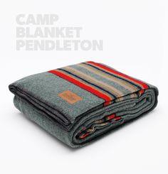 Camp Blanket Pendleton...obviously I need a few of these! I heart pendleton.