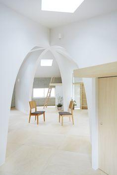 Client/ a family Location/ Tochigi, Japan Site area/ 218.89sqm Built area/ 91.76sqm