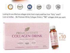 Nn Premium White Collagen Drink+ Glutathione+ Ceramide: Skin lightening, Firming