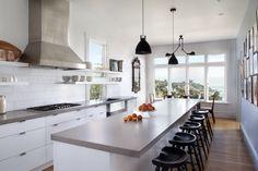 Modern Victorian kitchen reno.  Absolutely love this. (Belvedere kitchen renovation by Mark Reilly Architecture | Remodelista