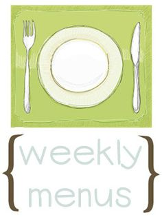 A year's worth of weekly menus and recipes