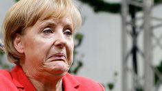 Angela Merkel ... Ah ils ne sont pas bons ces médicaments ...
