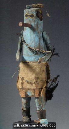 ズニカチーナ人形SIP-Ikne、ニューメキシコ州、アメリカ