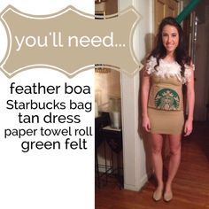 How to make a Starbucks Costume