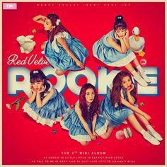 Red Velvet - The Mini Album : Rookie (Red) by on DeviantArt Rookie Red Velvet, Red Velvet Band, Kpop Girl Groups, Korean Girl Groups, Kpop Girls, Seulgi, Red Velvet Smtown, Girls Album, Memes