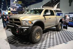 009 Aev Ram 2500 Dodge Overland Camper 4x4 Sema 2015 Photo 91811337