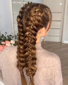 10 beautiful braided hairstyles you will love - the latest hairstyles . - 10 gorgeous braided hairstyles you& love – the latest hairstyle trends for 2019 – there& - Latest Hairstyles, Easy Hairstyles, Girl Hairstyles, Fishtail Braid Hairstyles, Hairstyles Videos, Medium Hairstyles, Teen School Hairstyles, French Plait Hairstyles, Braided Hairstyles For Long Hair