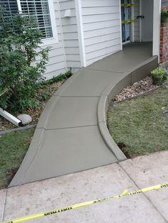Custom Concrete Ramp Aurora, CO  - Accessible Systems