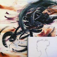 #painting #sketch #profile #art #atlanta #atlantaartist Atlanta, My Arts, Sketch, Profile, Instagram Posts, Artist, Painting, Sketch Drawing, User Profile