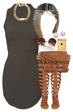 A fashion look from june 2016 by lulu-foreva featuring michael michael kors, kenneth Dope Fashion, Fashion Killa, Teen Fashion, Fashion Looks, Fashion Outfits, Womens Fashion, Fashion Trends, Woman Outfits, Cute Swag Outfits