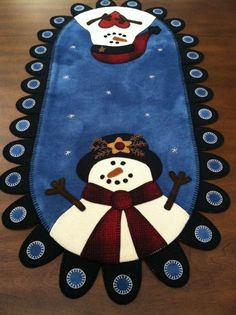 17 Best images about Penny Rugs Christmas Applique, Christmas Sewing, Felt Christmas, Christmas Crafts, Christmas Scenes, Penny Rug Patterns, Wool Applique Patterns, Felt Applique, Print Patterns