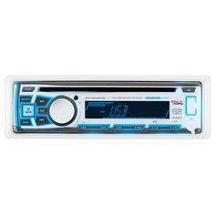 Boss Audio MR762BRGB Single DIN Bluetooth Enabled In-Dash MP3-CD-CDRW-AM-FM Receiver [MR762BRGB]
