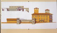 Giorgio Grassi · Restoration and rehabilitation of Fagnano Olona castle as town hall